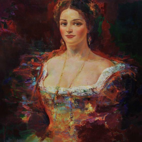 Vrouw uit Milaan